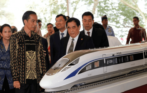 The China-backed rail project in Indonesia is raising concerns.