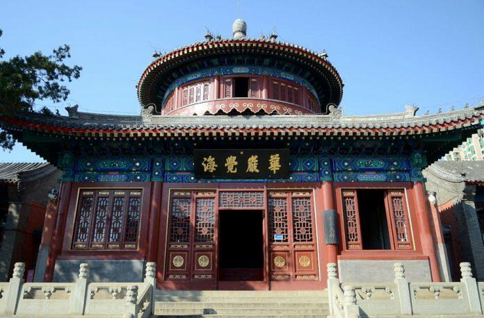 Juesheng Temple, Beijing, China.