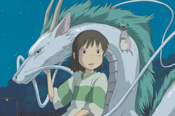 One of the 10 most touching manga and anime movies in China is 'Spirited Away.'