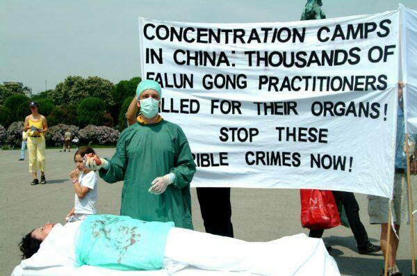 Organ harvesting is one of the worst atrocities committed by the CCP.