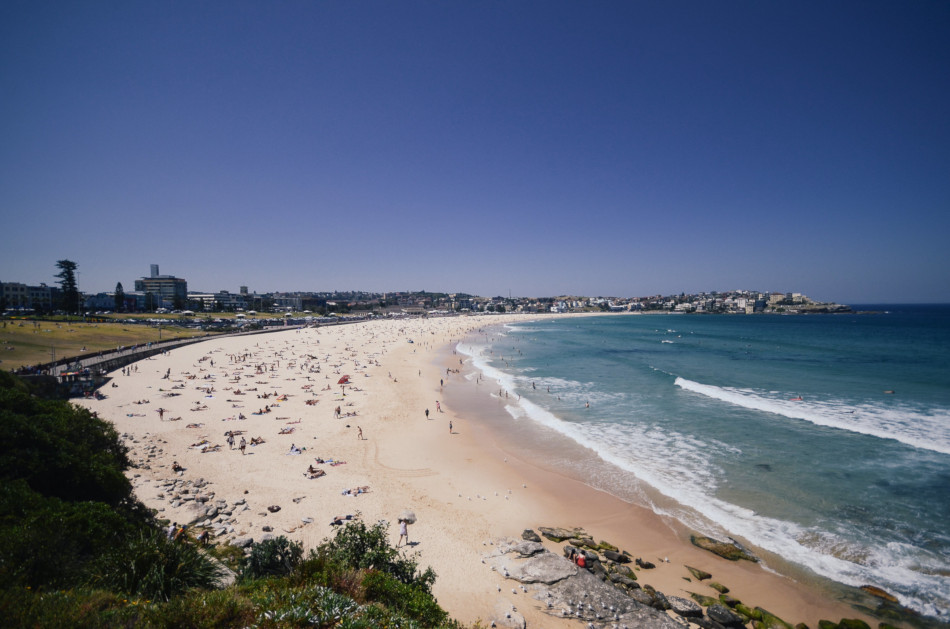Bondi Beach is one of the trendy beaches in Sydney.