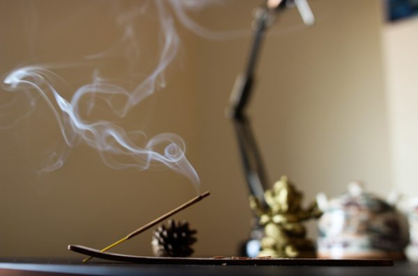 Burning incense in your home makes it smell nice and contributes to good feng shui