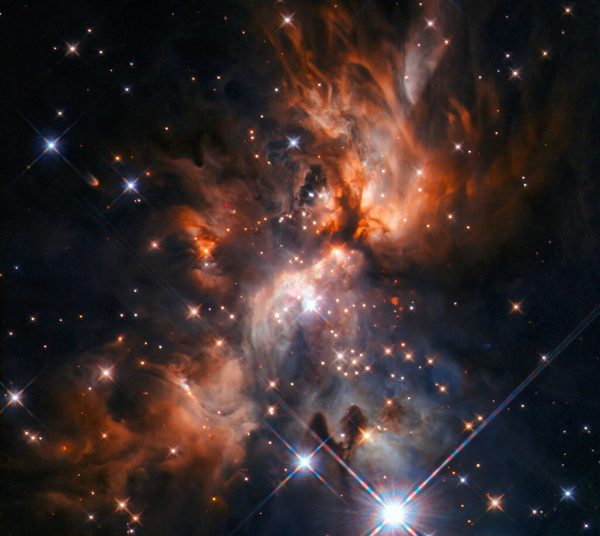AFGL 5180, a beautiful stellar nursery located in the constellation ofGemini(the Twins).