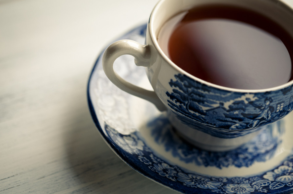 Tea contains high levels of fluorine, which can help prevent cavities.