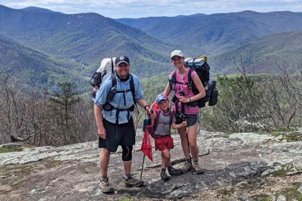 His mother Cassie Sutton said the experience of hiking the Appalachian Trail helped them bond in a new way.