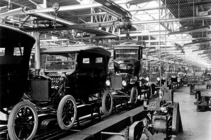 Reverse thinking was applied to factory workflow to develop more efficient assembly lines.