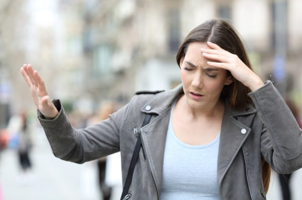 Most people with an insufficient brain blood supply experience dizziness even after sleeping for a long time.
